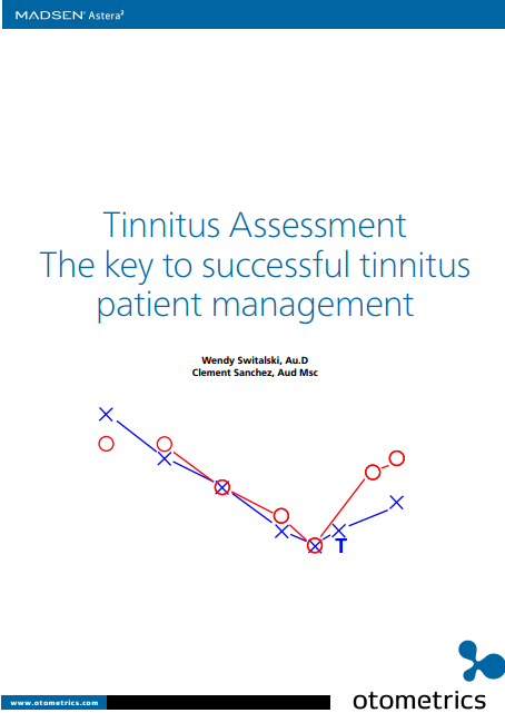 Tinnitus Assessment: The key to successf...